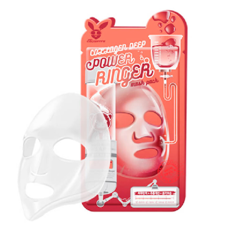 Маска для лица тканевая с коллагеном Elizavecca COLLAGEN DEEP POWER RING MASK PACK фото 3