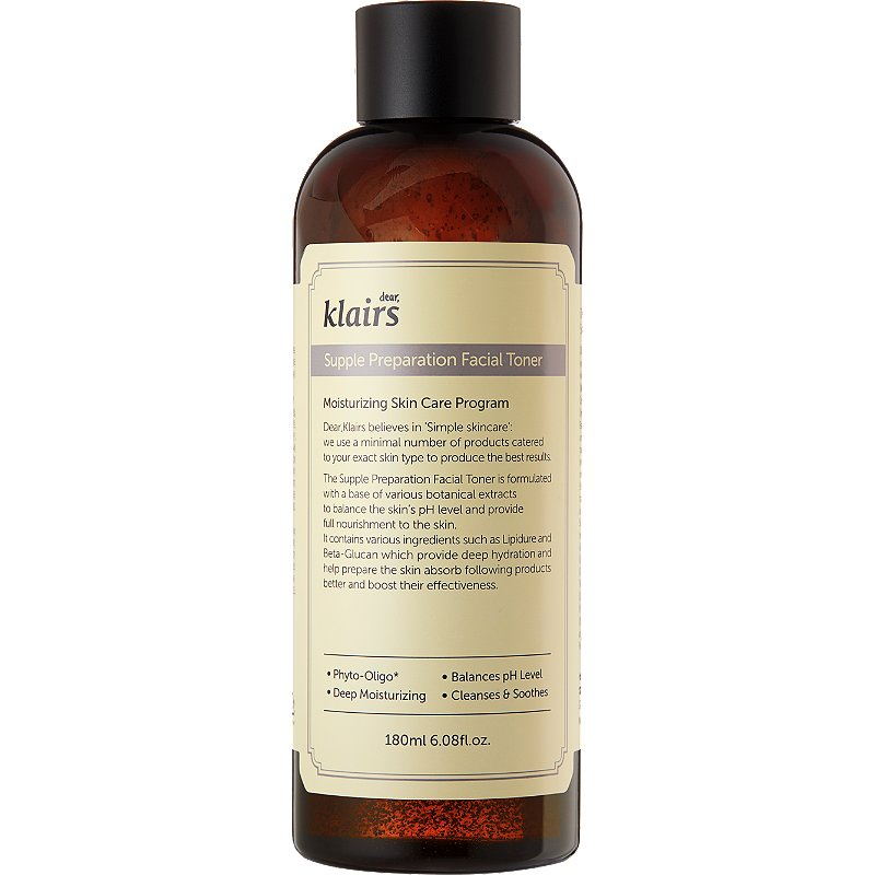 Тонер для лица с фито-олиго комплексом Klairs Supple Preparation Facial Toner фото 2
