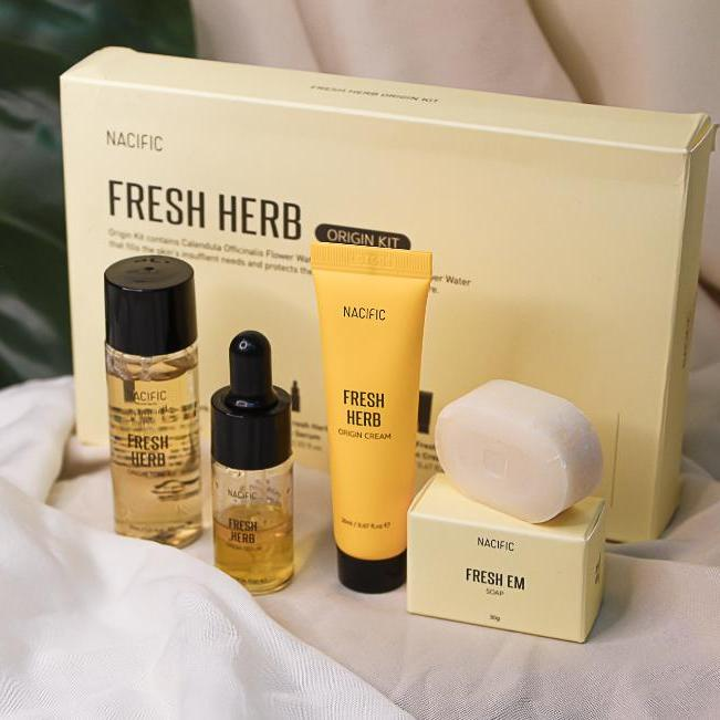 Набор миниатюр NACIFIC Fresh Herb Origin Kit