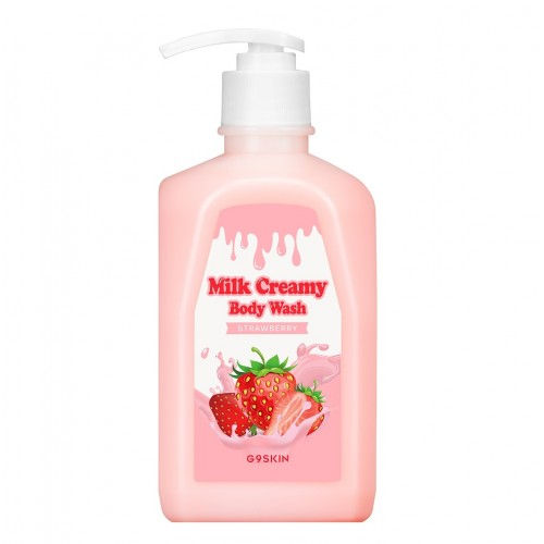 Гель для душа MILK CREAMY BODY WASH STRAWBERRY 520гр фото 2