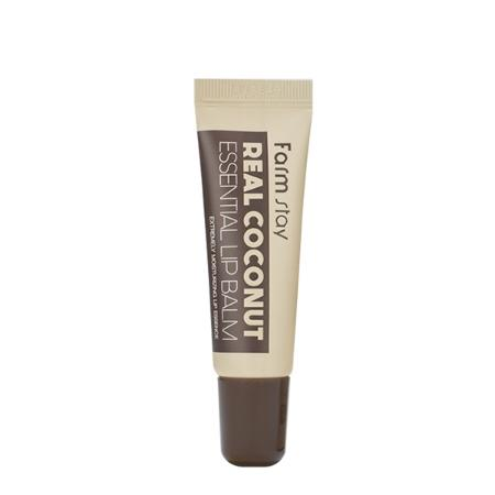 Бальзам для губ с маслом кокоса Farm Stay Real Coconut Essential Lip Balm