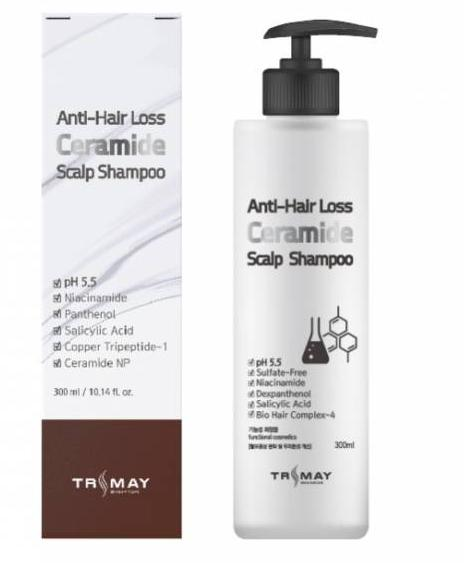 Шампунь с керамидами TRIMAY Anti-hair Loss Ceramide Scalp Shampoo