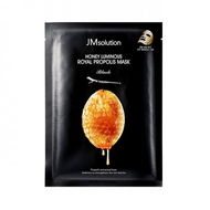 Тканевая маска восстанавливающая с прополисом JMsolution Honey Luminous Royal Propolis Mask