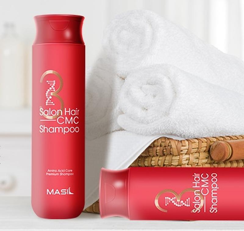 Шампунь восстанавливающий с керамидами Masil 3 Salon Hair CMC Shampoo
