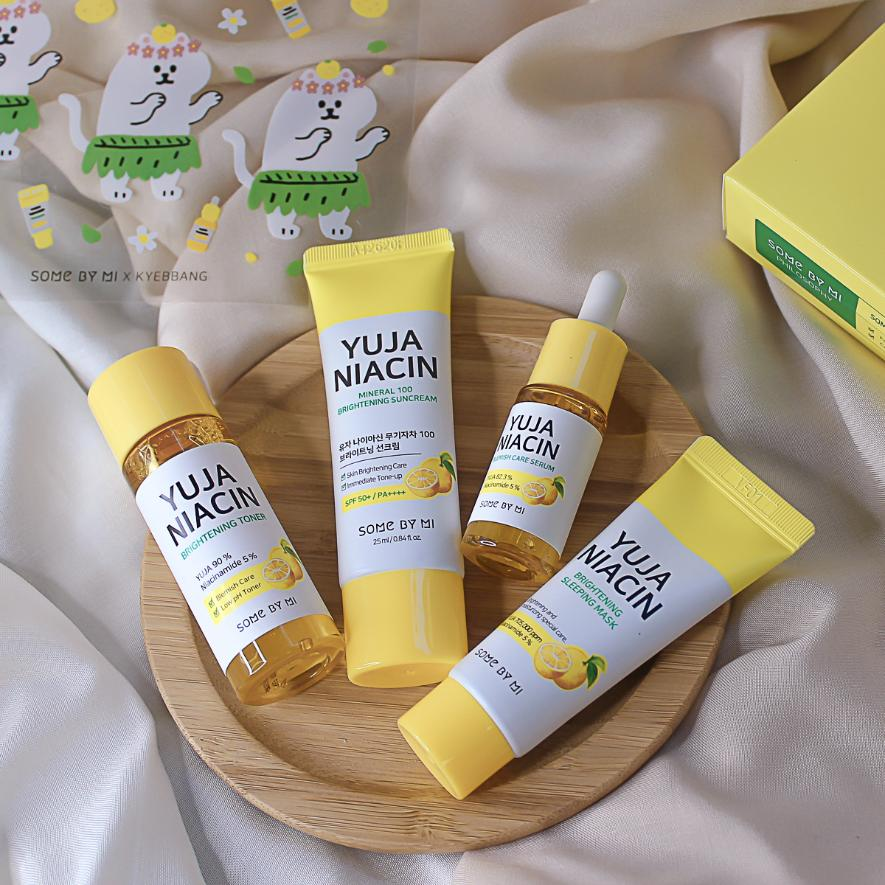 Набор для ровного тона Some By Mi Yuja Niacin 30 Days Brightening Solution 4 Step Kit