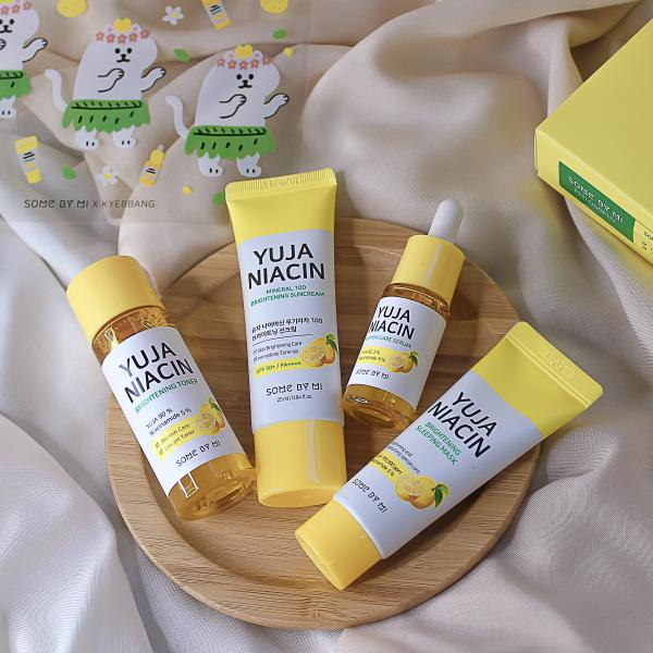 Ночная маска выравнивание тона с экстрактом юдзу Some By Mi Yuja Niacin 30 Days Miracle Brightening Sleeping Mask фото 4