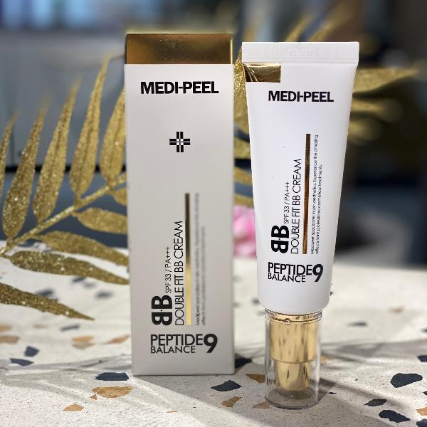 ВВ крем с пептидами Medi-Peel Peptide Balance9 Double Fit BB Cream SPF33PA+++ 50 млBB CREAM SPF33PA+++