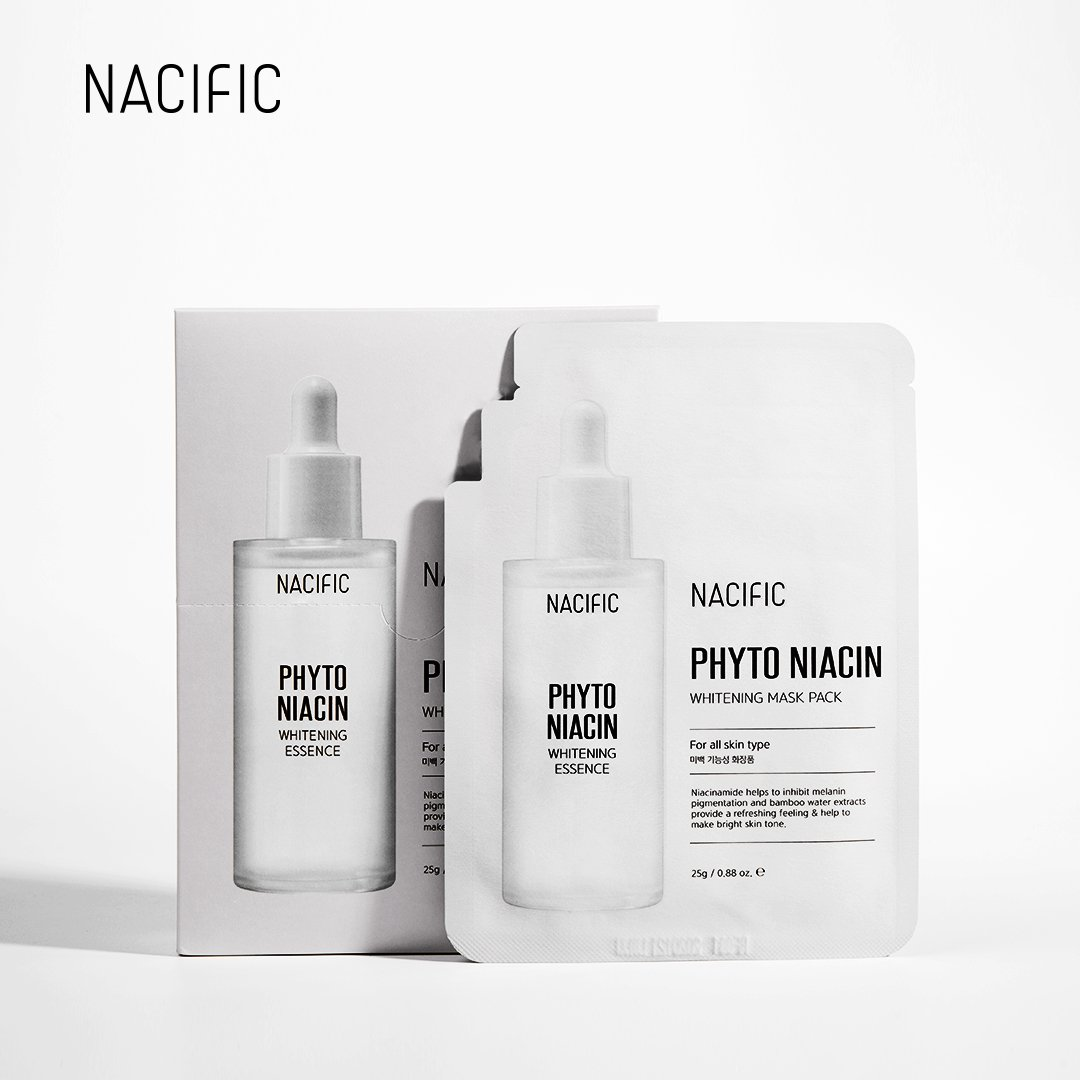Отбеливающая маска NACIFIC PHYTO NIACIN WHITENING MASK PACK