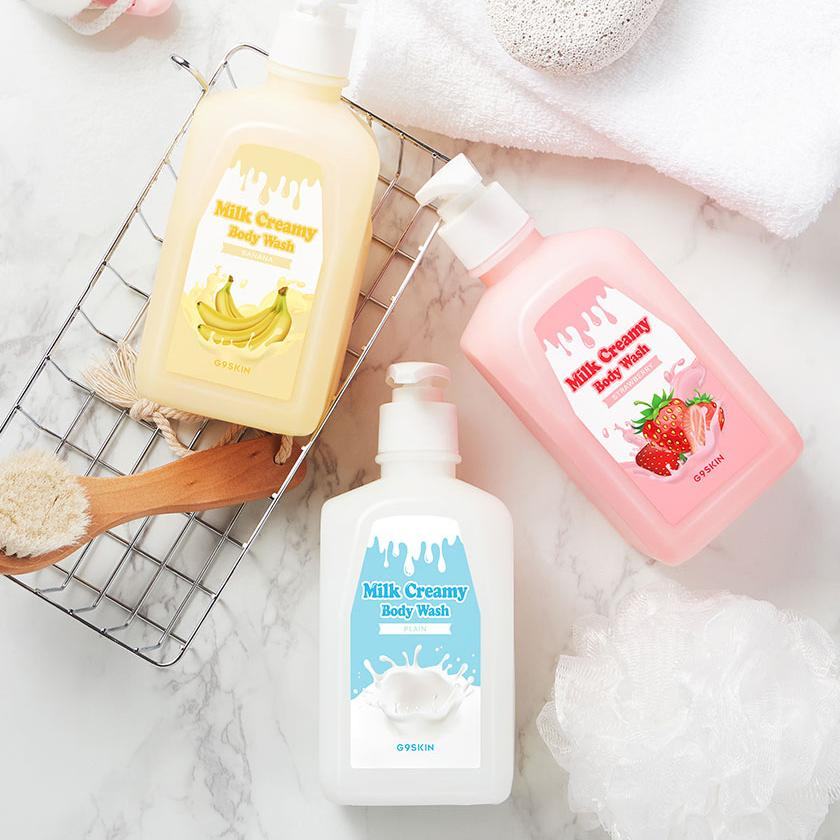 G9 Гель для душа MILK CREAMY BODY WASH PLAIN 520гр