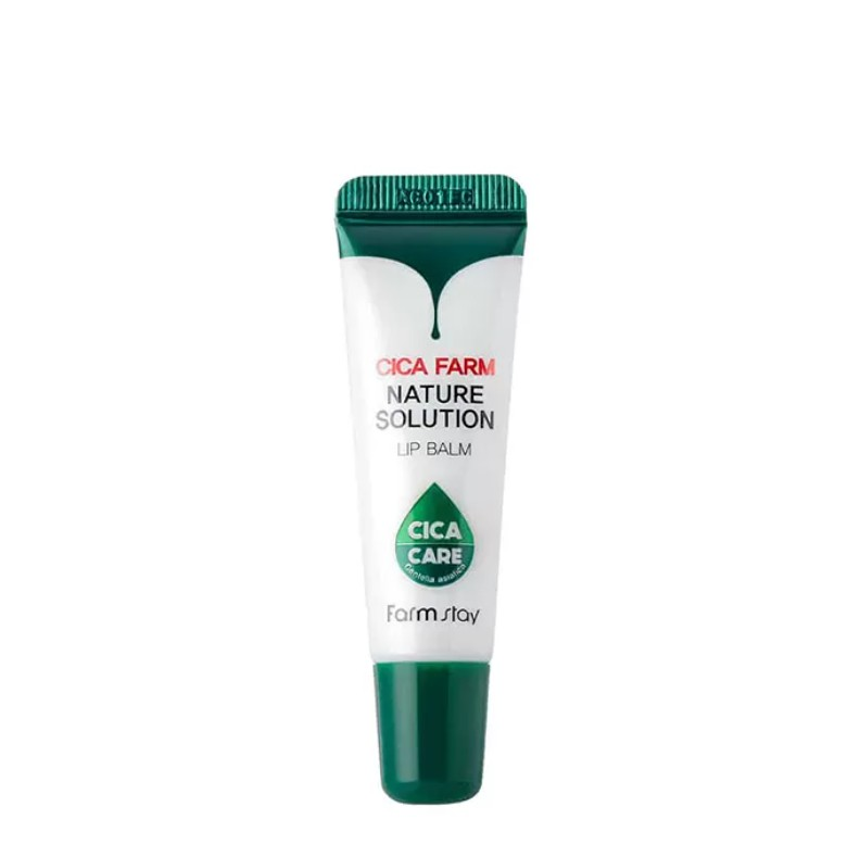 Бальзам для губ FarmStay Cica Farm Nature Solution Lip Balm