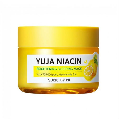 Ночная маска выравнивание тона с экстрактом юдзу Some By Mi Yuja Niacin 30 Days Miracle Brightening Sleeping Mask фото 2