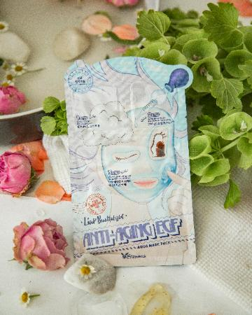 Маска для лица Elizavecca 3-Step Anti-Aging EGF Aqua Mask Sheet фото 3